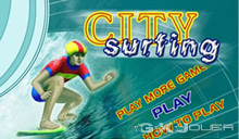 jeu City Surfing