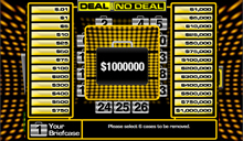 jeu Deal or no Deal
