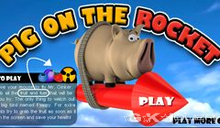 jeu Pig on the Rocket