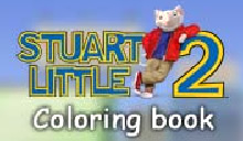 jeu Stuart Little 2 coloring book livre coloriages